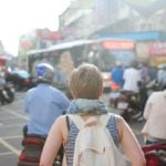 Woman Traveling Abroad