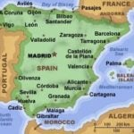Map of Spain for Travel to Spain