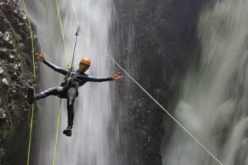 Canyoning adventure travel in Bali