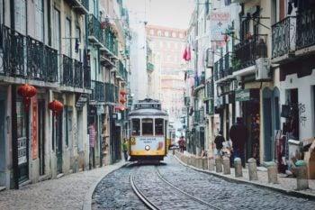 Trolley in Portugal
