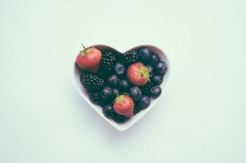 Moving abroad and health: Bowl of berries