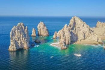 Ocean Scene in Mexico for Travelers