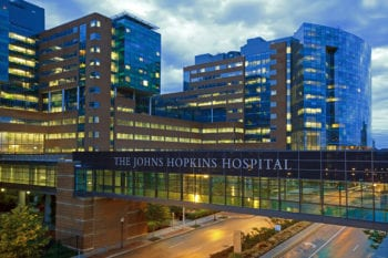 Johns Hopkins is a top rated hospital in the US healthcare system