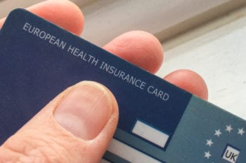 UK European Health Insurance Card